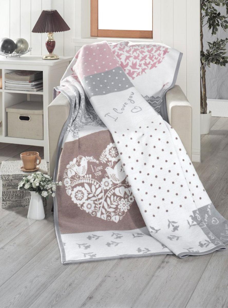 Плед Arloni Cotton, 150 x 200 см. Д-15-2Д-15-2Плед-покрывало станет интересным акцентом в интерьере. Такой плед-покрывало красиво и уютно подчеркнет кровать, диван или кресло.Состав: 60% хлопок, 40% акрил.