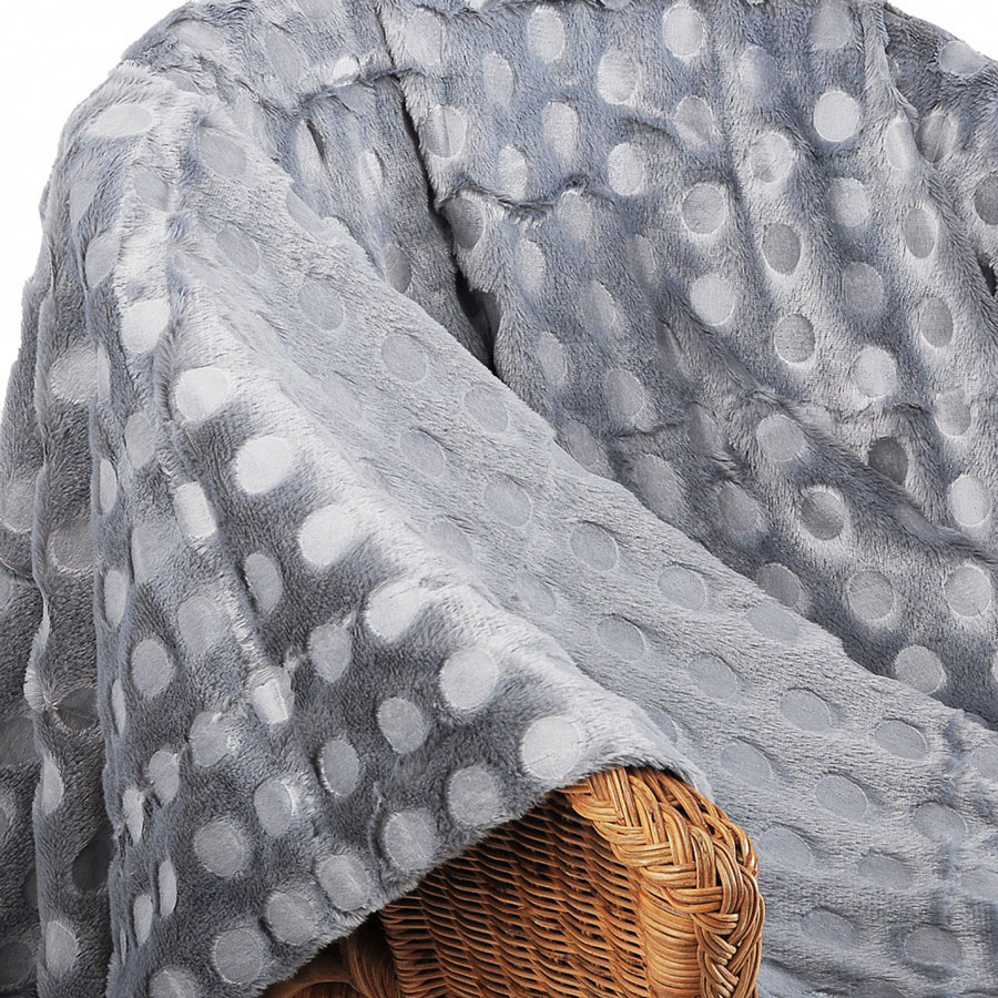 Плед Arloni Серый хамелеон, 150 x 200 см. О-12-3