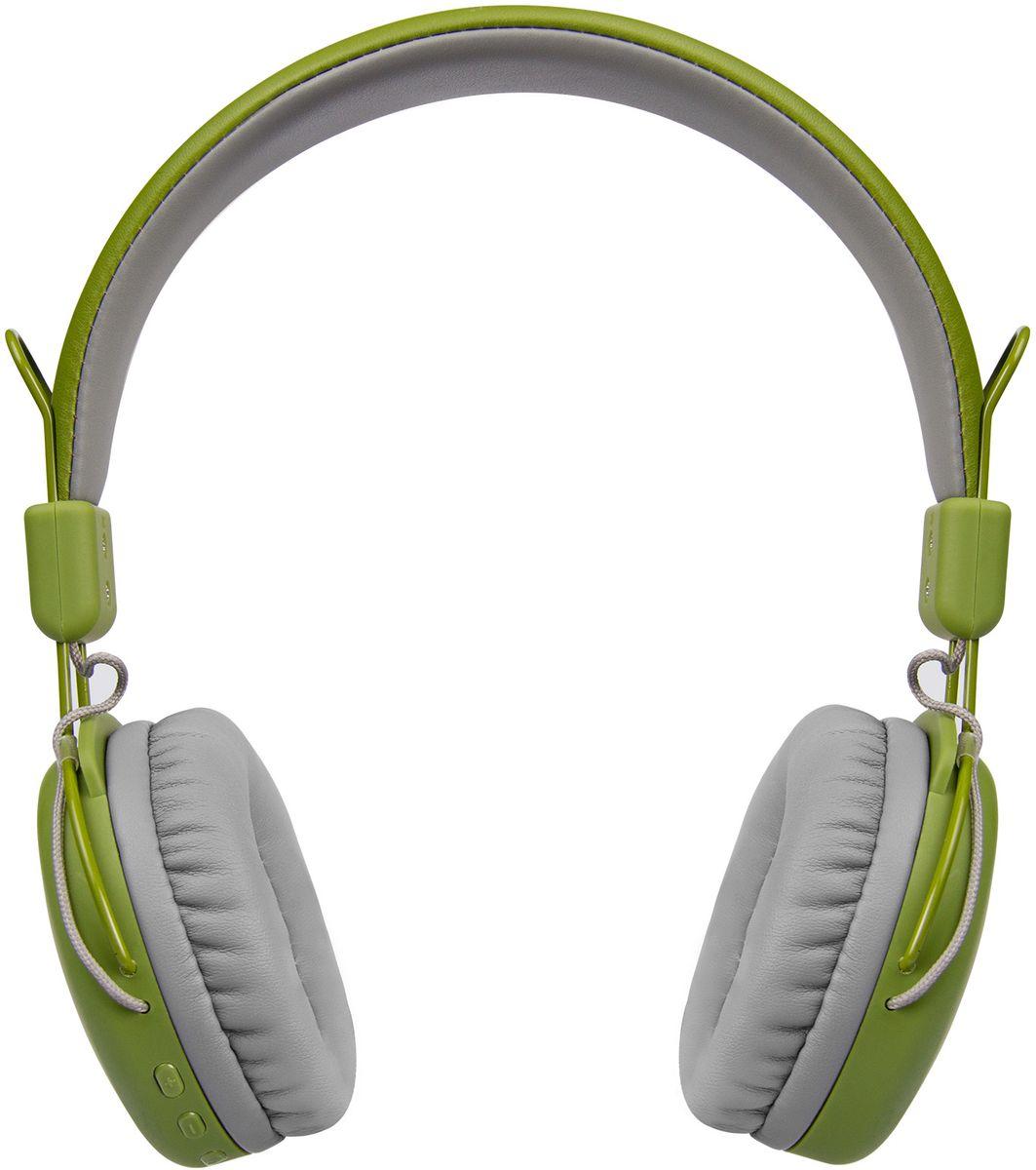 Rombica Mysound BH-03 3C, Green наушникиBH-00033Наушники Rombica mysound BH-03 3C