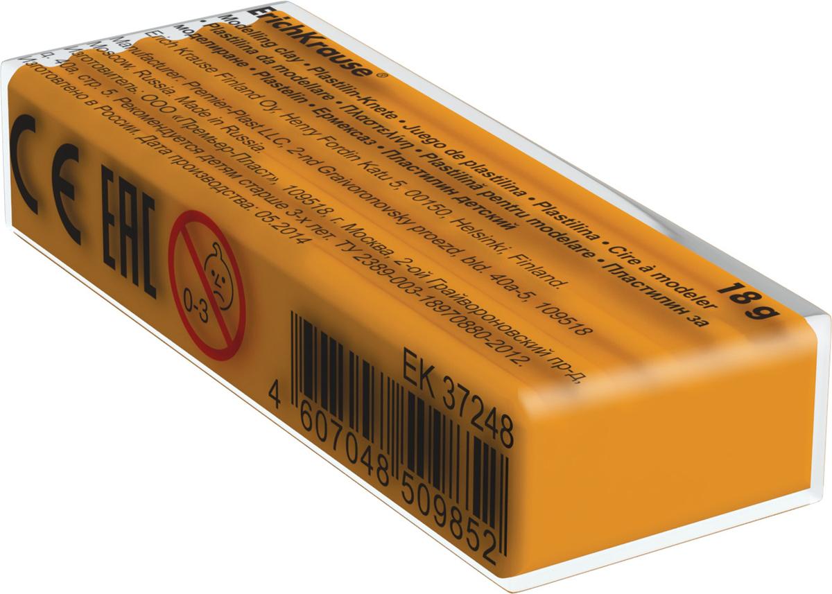 Erich Krause Пластилин цвет оранжевый анна игнатова вектор пластилина