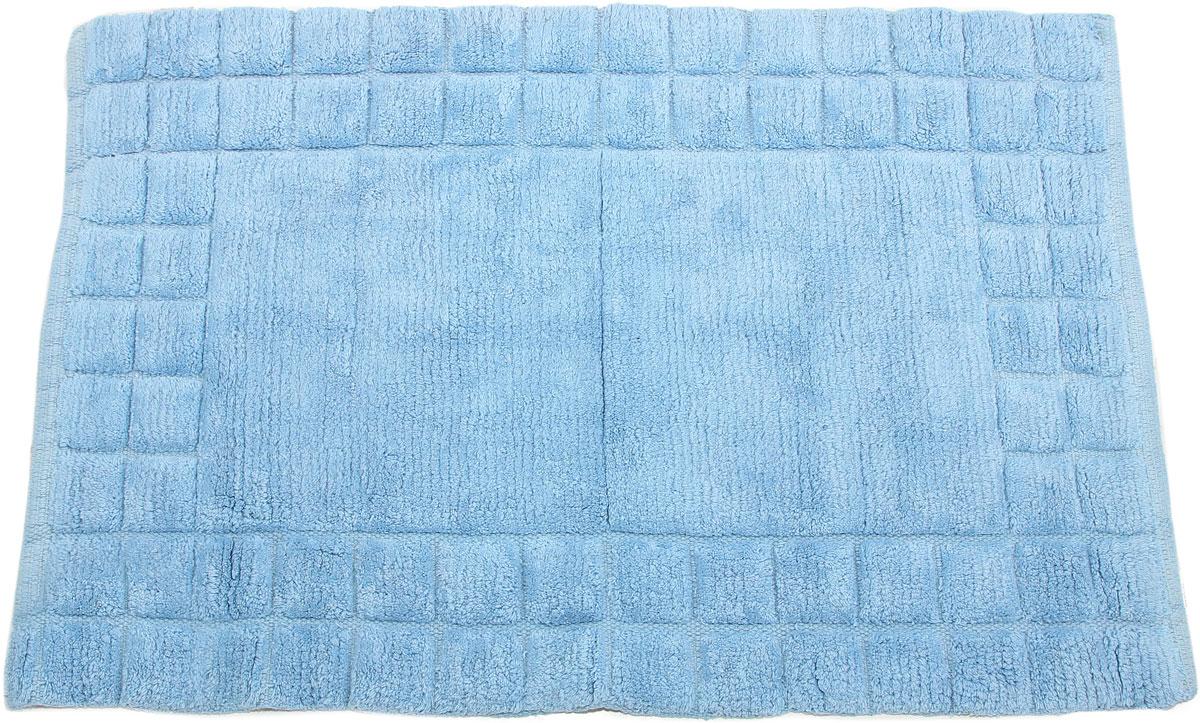 Коврик для ванной Arloni, самотканый, цвет: голубой, 50 x 80 см. 204/3ARL204/3ARL