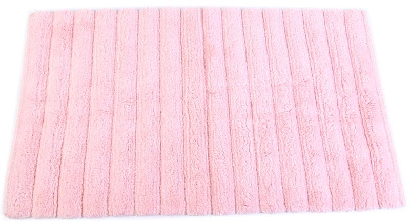 Коврик для ванной Arloni, самотканый, цвет: розовый, 50 x 80 см. 202/5ARL202/5ARLСамотканый коврик для ванной Arloni, выполненный из 100% хлопка, декорирован принтом в полоску. Коврик долго прослужит в вашем доме, добавляя тепло и уют, а также внесет неповторимый колорит в интерьер ванной комнаты.Может использоваться в качестве прикроватного коврика или коврика для ванной комнаты.