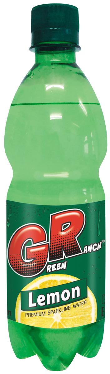 Green Ranch газированный напиток на сахаре Лимон, 0,5 л green ranch газированный напиток на сахаре орандж 1 л