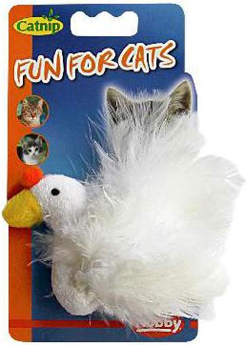 Игрушка для животных Nobby Уточка, с мятой, 10 см71932Оригинальная игрушка для животных Nobby Курочка, выполненная из высококачественных материалов и перьев, оснащена запахом кошачьей мяты, что вызовет дополнительный интерес вашего питомца. Такая игрушка порадует вашего любимца, а вам доставит массу приятных эмоций, ведь наблюдать за игрой всегда интересно и приятно.