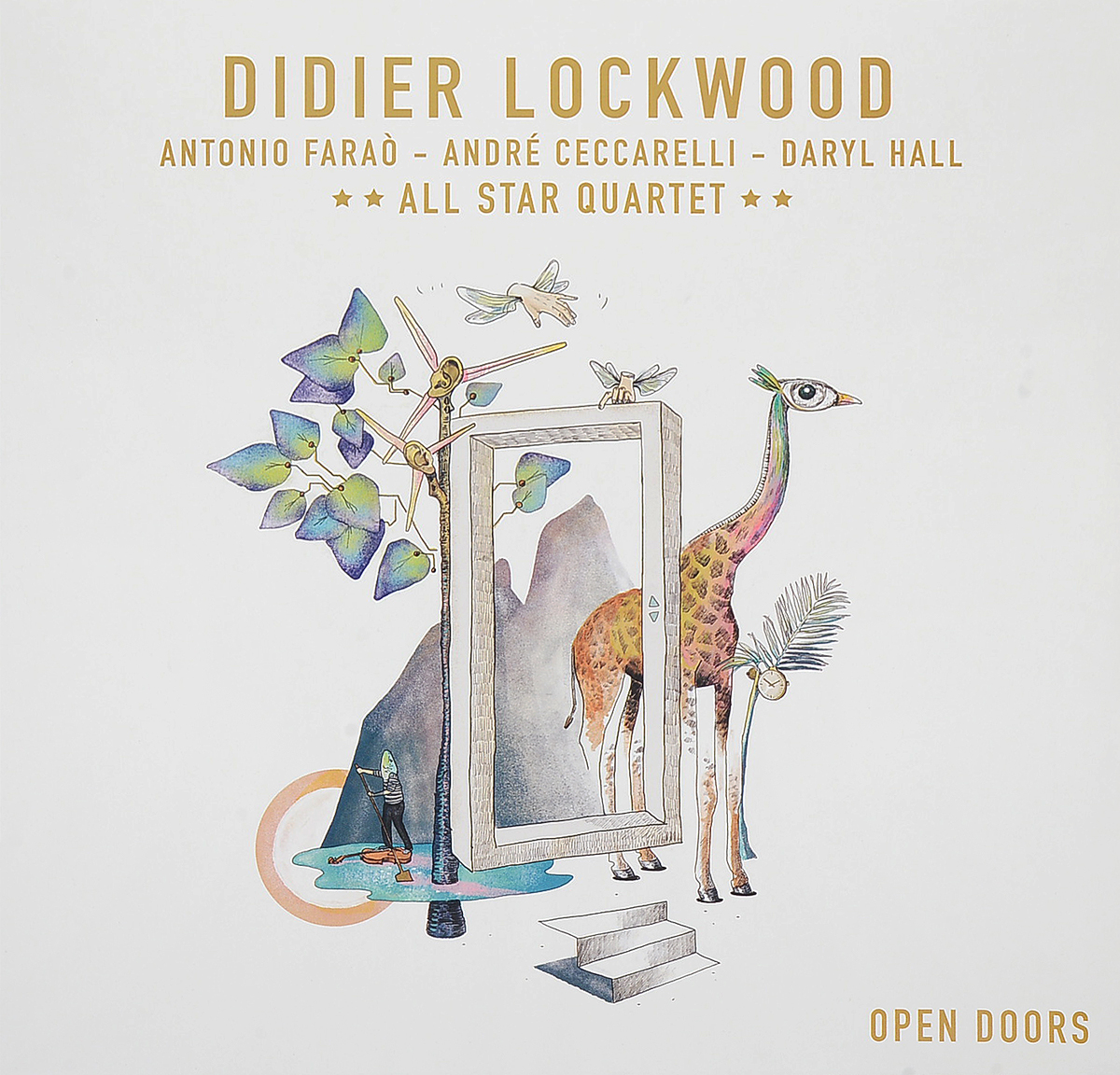 Дидье Локвуд Didier Lockwood. Open Doors (2 LP)