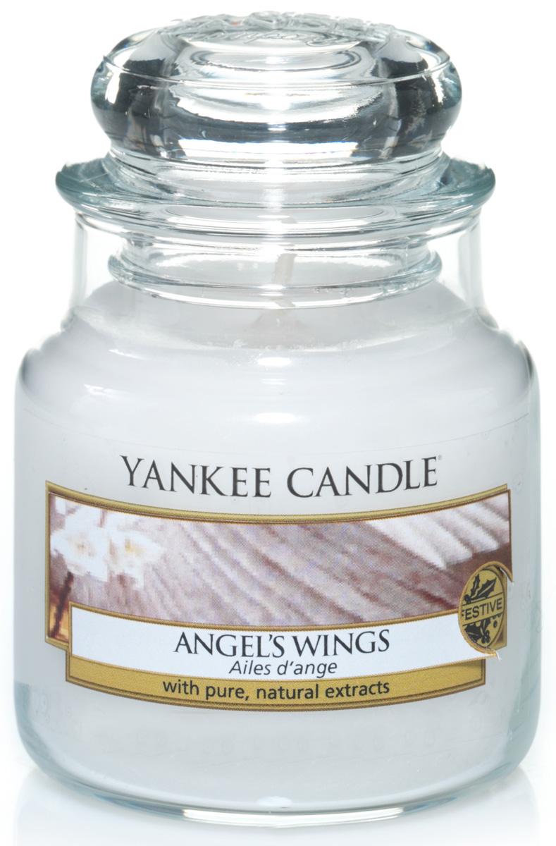 Свеча ароматизированная Yankee Candle Angel's wings, высота 8,6 см свеча ароматизированная botavikos бергамот и жасмин цвет белый высота 9 см