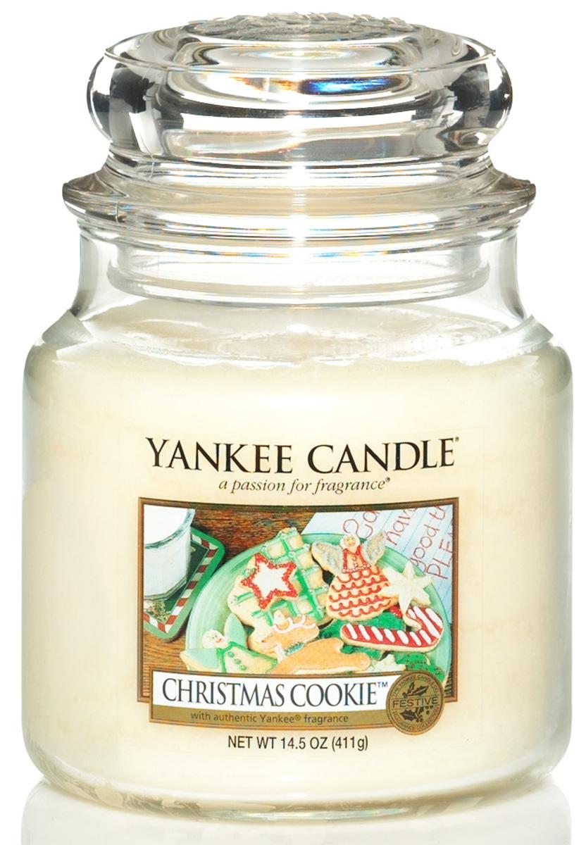 Свеча ароматизированная Yankee Candle Christmas сookie высота 12,7 см114504EБогатый и маслянистый аромат душистой ванили это праздничное сахарное печенье. Верхняя нота: Сливочная Ваниль Средняя нота: Мускатный Орех, Корица, Сахар Базовая нота: Ваниль, Масло, Печенье