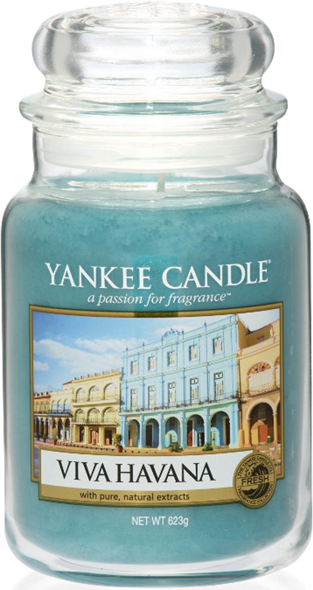 Свеча ароматизированная Yankee Candle Viva Havana, высота 16,8 см свеча ароматизированная bolsius ландыш высота 6 3 см
