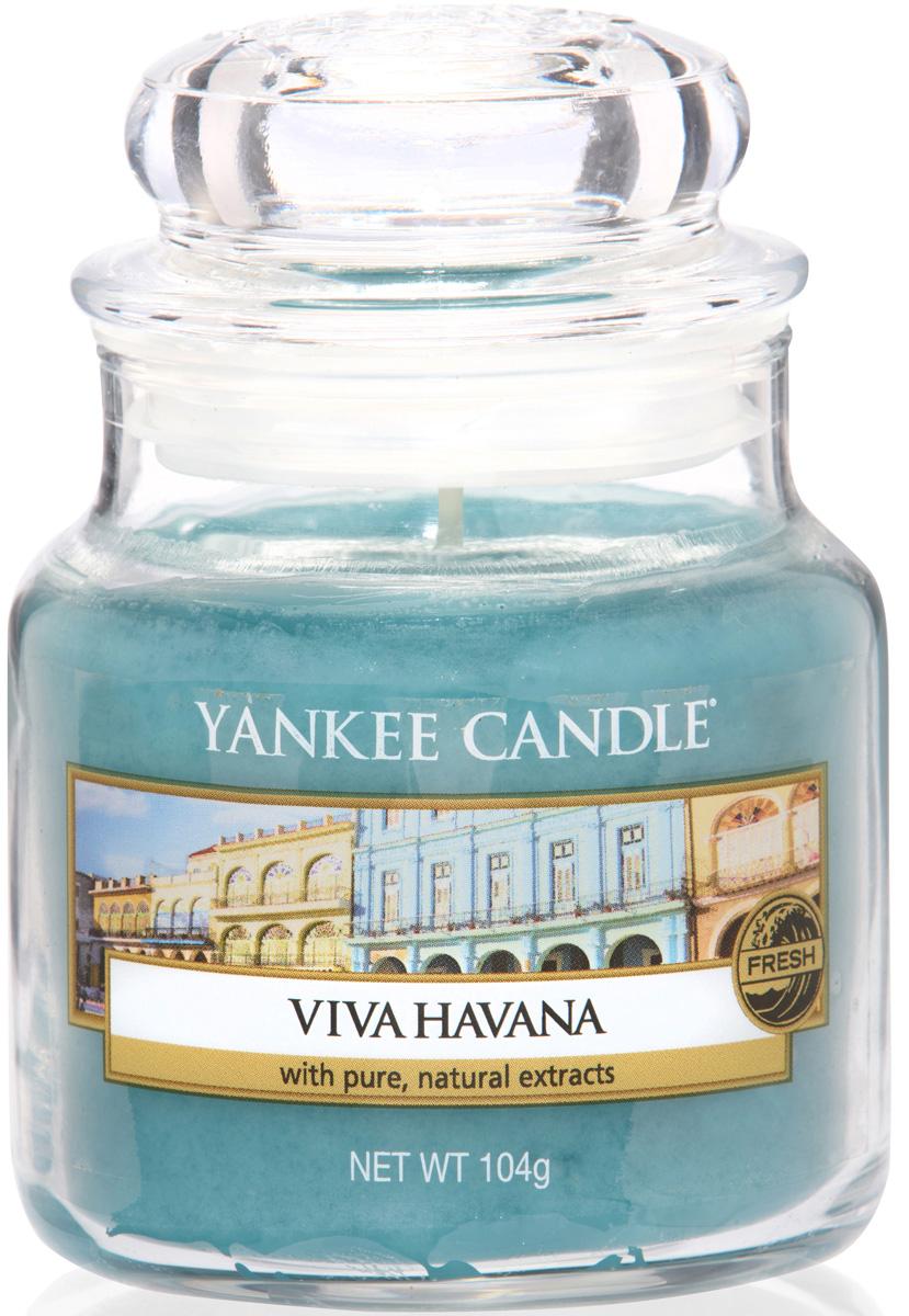 Свеча ароматизированная Yankee Candle Viva Havana, высота 8,6 см свеча ароматизированная yankee candle сладость 623 г