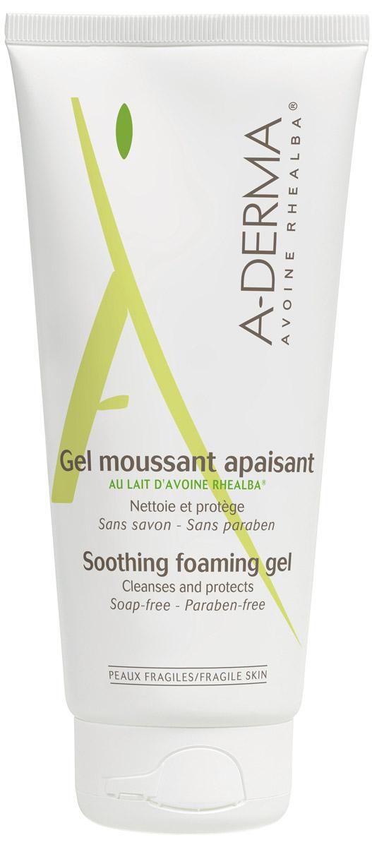 A-Derma Essential Успокаивающий очищающий гель, 200 млC39966Очищающий гель A-Derma предназначен для деликатного ухода за чувствительной кожей лица и тела. В состав средства входит экстракт ростков овса Реальба, который обладает успокаивающими и защитными свойствами. Гель тщательно очищает, не раздражая слизистую глаз, поэтому подойдет всем членам семьи. Он не содержит мыла, красителей и парабенов и протестирован под контролем дерматологов.