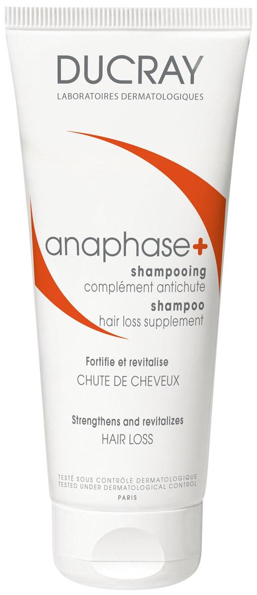 Ducray Анафаз+ Шампунь для ухода за ослабленными выпадающими волосами, 200 млC60389Ducray Anaphase+ разработан для ухода за ослабленными, выпадающими волосами. Укрепляет волосы и наполняет их жизненной силой. Подготавливает кожу головы к нанесению лечебных средств. Возвращает объем, силу и энергию. Придает дополнительный объем волосам, склонным к выпадению. Содержит комплекс витаминов, необходимых для питания, укрепления и стимуляции роста сильных волос. Монолаурин замедляет процесс выпадения волос, способствует снижению активности ключевого фермента, играющего непосредственную роль в процессе их активного выпадения. Анафаз+ хорошо переносится и может использоваться каждый день.