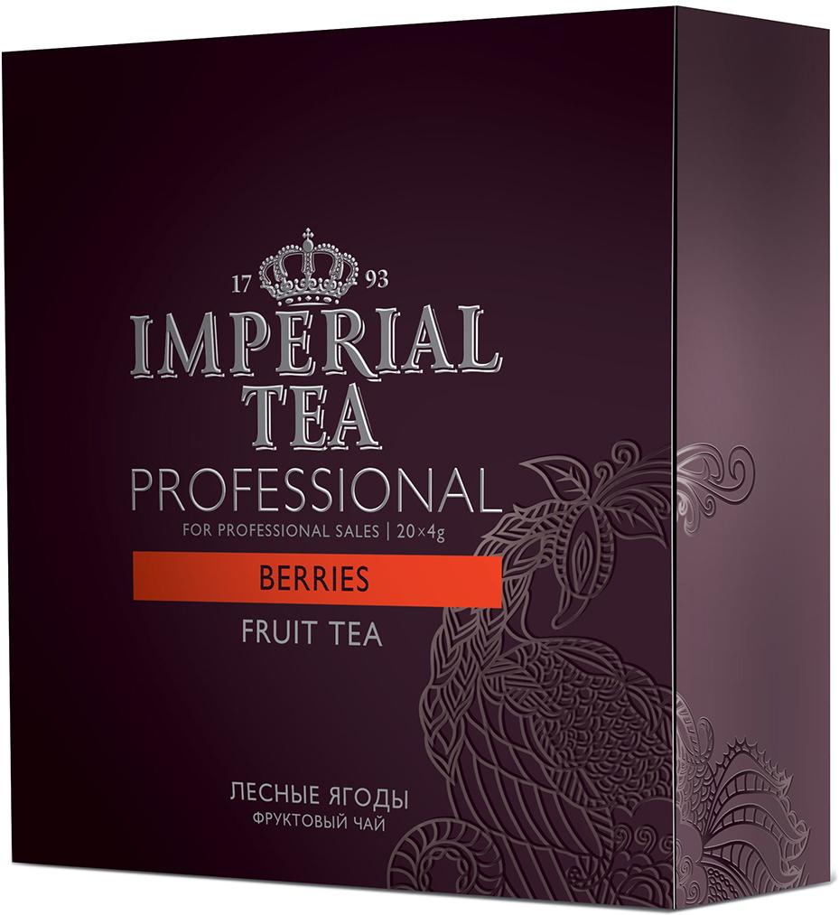 Императорский чай Professional Лесный ягоды, 20 шт73-54Чай сочетающий мягкий вкус чайного листа с душистыми лесными ягодами раскрывает безупречную гармонию вкуса. Сложный букет откроет новые грани вкуса и подарит спокойную атмосферу летнего вечера... Этот чай, отлично подойдет как для праздничных посиделок в кругу семьи, так и для подачи в ресторанах самым требовательным клиентам, ведь чай – удовольствие, доступное каждому!Всё о чае: сорта, факты, советы по выбору и употреблению. Статья OZON Гид