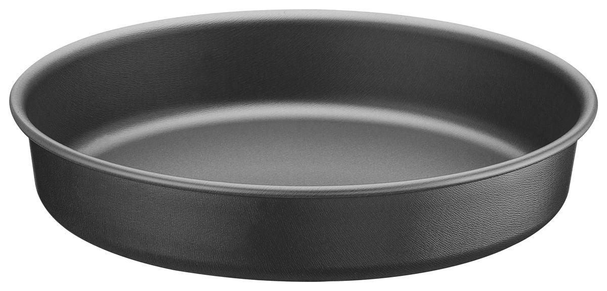 Форма для выпечки Tramontina, круглая, диаметр 26 см20057/026-TRАлюминиевая форма для выпечки Tramontina с запатентованным антипригарным покрытием Starflon внутри и снаружи.Алюминий хорош тем, что обладает высокой теплопроводностью - проводит тепло в 4 паза лучше чугуна и 13 раз нержавеющей стали.Антипригарное покрытие, наносится с помощью роликовой накатки в 5 слоев, толщина проверяется во время и в конце процесса нанесения.Антипригарное покрытие характеризуется количеством циклов мытья, для запатентованного Tramontina покрытия Starflon характерно 10 000 циклов. Текстура формы для выпечки Tramontina отличается от представленных на рынке особой мягкостью, красотой и приятна на ощупь.Можно использовать как в газовой, так и электрической печи.Материал: алюминий с антипригарным покрытием StarflonТолщина алюминиевого корпуса: 0,8 мм Толщина антипригарного покрытия от 28 до 38 микронов. Можно мыть в посудомоечной машине: да Страна производства: Бразилия