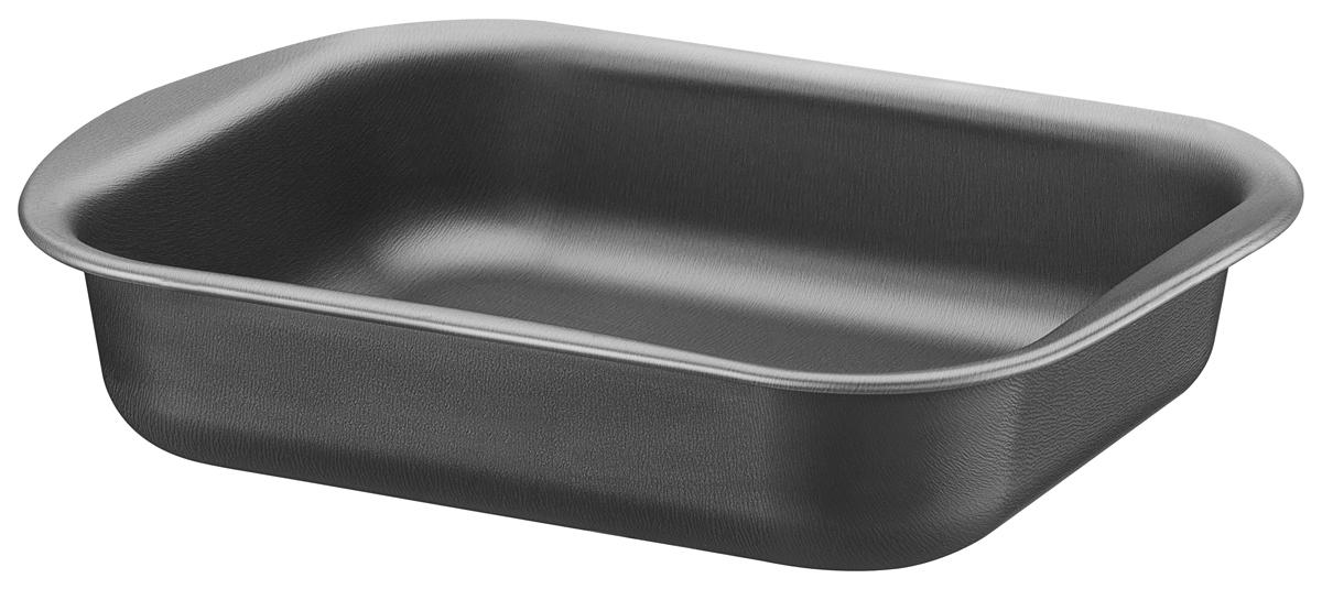 """Алюминиевая форма для выпечки """"Tramontina"""" с запатентованным антипригарным покрытием Starflon внутри и снаружи.  Алюминий хорош тем, что обладает высокой теплопроводностью - проводит тепло в 4 паза лучше чугуна и 13 раз нержавеющей стали.  Антипригарное покрытие, наносится с помощью роликовой накатки в 5 слоев, толщина проверяется во время и в конце процесса нанесения.  Антипригарное покрытие характеризуется количеством циклов мытья, для запатентованного """"Tramontina"""" покрытия Starflon характерно 10 000 циклов. Текстура формы для выпечки """"Tramontina"""" отличается от представленных на рынке особой мягкостью, красотой и приятна на ощупь.  Можно использовать как в газовой, так и электрической печи.  Материал: алюминий с антипригарным покрытием Starflon  Толщина алюминиевого корпуса: 0,8 мм Толщина антипригарного покрытия от 28 до 38 микронов. Можно мыть в посудомоечной машине: да Страна производства: Бразилия"""