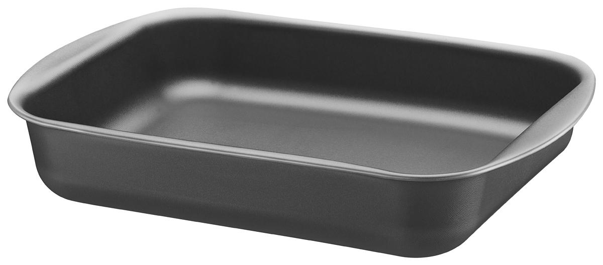 """Алюминиевая форма для выпечки """"Tramontina"""" с запатентованным антипригарным покрытием Starflon внутри и снаружи.  Алюминий хорош тем, что обладает высокой теплопроводностью - проводит тепло в 4 раза лучше чугуна и в 13 раз лучше нержавеющей  стали.  Антипригарное покрытие, наносится с помощью роликовой накатки в 5 слоев, толщина проверяется во время и в конце процесса  нанесения.  Антипригарное покрытие характеризуется количеством циклов мытья, для запатентованного """"Tramontina"""" покрытия Starflon характерно  10 000 циклов. Текстура формы для выпечки """"Tramontina"""" отличается от представленных на рынке особой мягкостью, красотой и приятна на ощупь.     Толщина антипригарного покрытия от 28 до 38 микронов. Можно мыть в посудомоечной машине."""