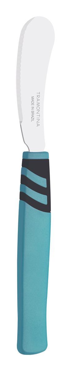 """Набор ножей для масла Tramontina """"Amalfi"""", цвет: бирюзовый, длина лезвия 7,5 см, 2 шт"""