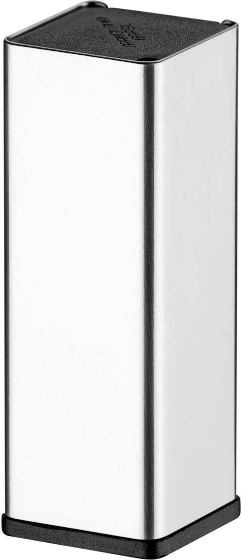 Подставка для зубочисток Tramontina, 11 х 8 х 3,5 см61105/000-TRПодставка для зубочисток TRAMONTINA изготовлена из высококачественной особо прочной нержавеющей стали 18/10 с зеркальной придающей изысканность полировкой. В посуде из такой стали можно хранить любые продукты, в том числе содержащие щелочи и кислоты, так как она не вступает в контакт с пищей, не изменяет ее вкусовые качества, запах и цвет. Контейнер из пищевого пластика с простой, удобной и надежной системой открывания. При производстве особое внимание уделяется окончательной обработке, что предохраняет от риска пораниться о края изделия. Материал: нержавеющая сталь 18/10, пищевой пластикМожно мыть в посудомоечной машине: даСтрана производства: Бразилия