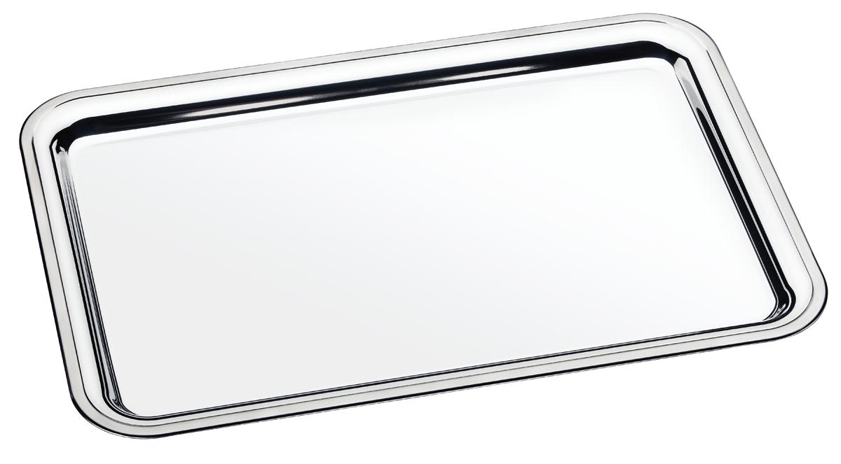 Поднос Tramontina Buena, 49 х 33 х 2 см61712/481-TRПоднос TRAMONTINA изготовлен из высококачественной особо прочной нержавеющей стали 18/10, прочный и устойчивый к деформации.Стильный дизайн с зеркальной придающей изысканность полировкой позволяет эффектно подать блюдо к столу.При производстве особое внимание уделяется окончательной обработке, что предохраняет от риска пораниться о края изделия.Материал: нержавеющая сталь 18/10 Толщина стали: 0,6 мм Можно мыть в посудомоечной машине: да Страна производства: Бразилия