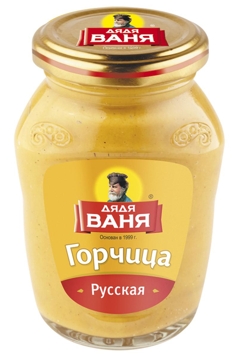 Дядя Ваня горчица русская, 140 гDV-4607002998395Знаменитая русская приправа, которая производится из цельных и молотых семян горчицы. Подают такую горчицу к мясным, рыбным или другим горячим блюдам.Уважаемые клиенты! Обращаем ваше внимание на то, что упаковка может иметь несколько видов дизайна. Поставка осуществляется в зависимости от наличия на складе.