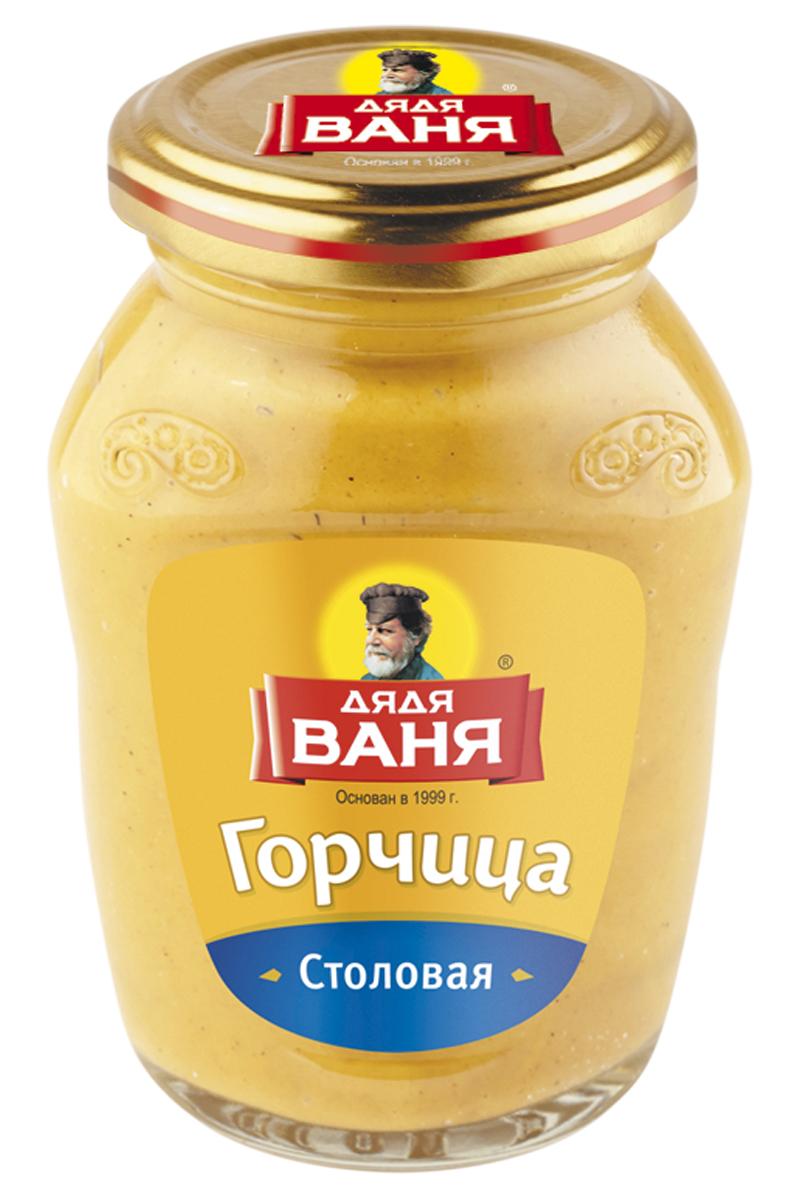 Дядя Ваня горчица столовая, 140 г