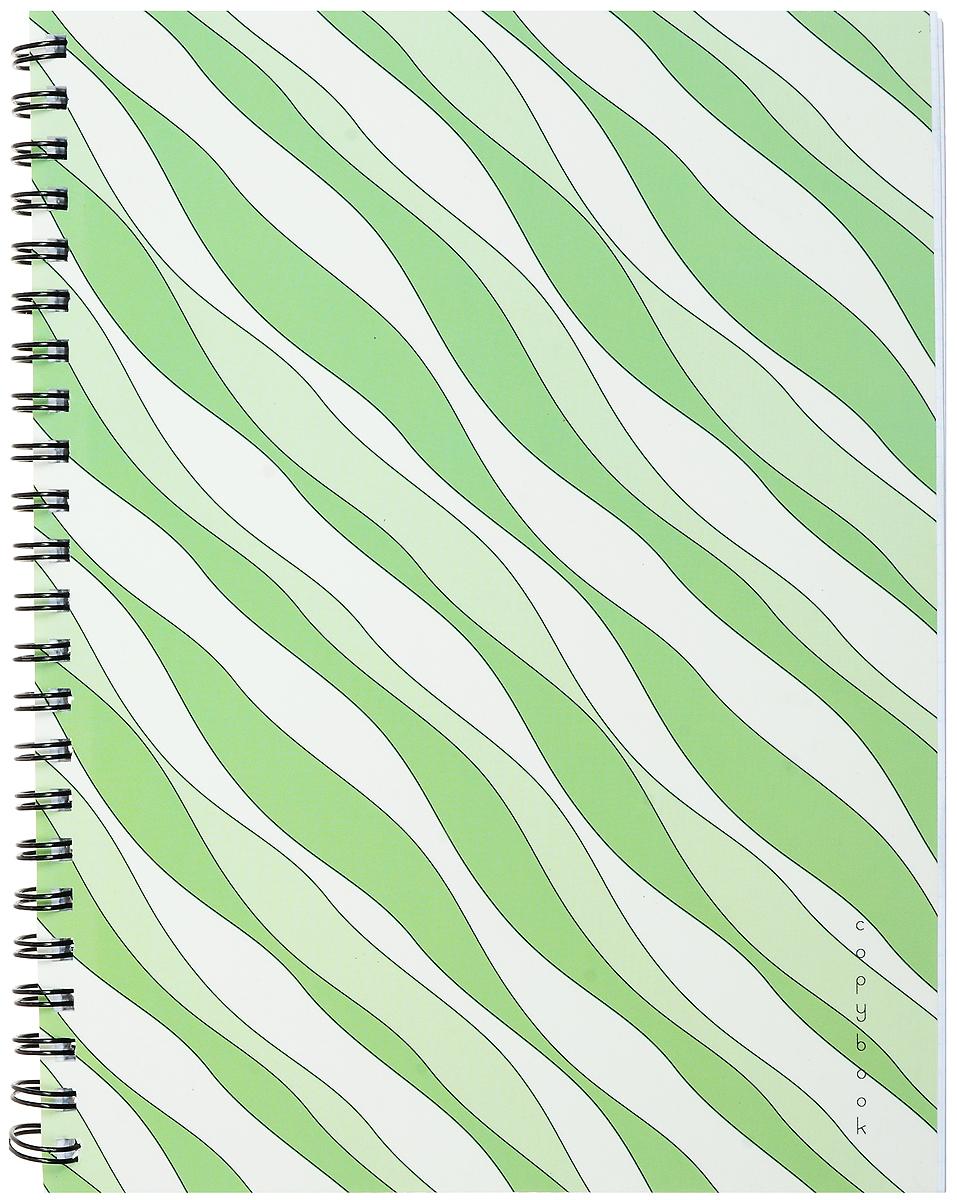 Канц-Эксмо Тетрадь Гармония цвета 96 листов в клетку цвет зеленый белый тетради канц эксмо темно красная а5 200листов тетради с пластиковой обложкой