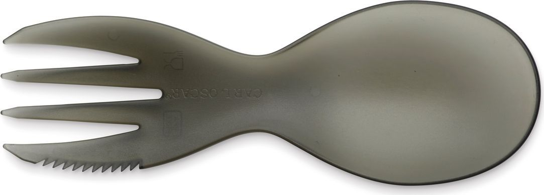 Прибор столовый 3в1 Carl Oscar CUTElery, многофункциональный, цвет: серый105000Маленький универсальный столовый прибор Carl Oscar CUTElery, который соединяет все приборы в одном, его легко держать и использовать. Изделие выполнено из пищевого пластика. Отлично подойдет как для детей, так и для взрослых. CUTElery почти не занимает места и включает в себя ложку, вилку и ножик. Положите этот уникальный столовый прибор в коробку для ланча, в сумку или детский рюкзак. Мультивилка подходит для мытья в посудомоечной машине и прекрасно переносит высокие температуры. Не содержит бисфенол А.