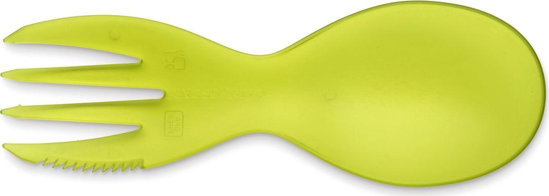 Многофункциональный столовый прибор Carl Oscar CUTElery, 3в1, цвет: лайм105001Этот маленький универсальный столовый прибор от шведского бренда Carl Oscar, который соединяет все приборы в одном, легко держать и использовать. Он отлично подойдет как для детей, так и для взрослых. CUTElery почти не занимает места и включает в себя ложку, вилку и ножик. Положите этот уникальный столовый прибор в коробку для ланча, в сумку или детский рюкзак. CUTElery• Создан для многоразового использования• Большой выбор цветов• Мультивилка подходит для мытья в посудомоечной машине и прекрасно переносит высокие температуры• Не содержит бисфенол АДизайн: Carl Oscar®