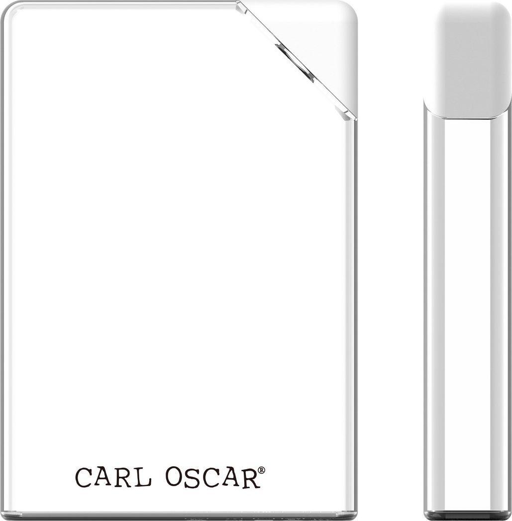 Бутылка для воды Carl Oscar AquaPAD, цвет: белый, 400 мл105306Стильная плоская бутылка для воды AquaPAD шведского бренда Carl Oscar отлично поместится в вашей сумке рядом с ноутбуком, планшетом, записной книжкой или календарем. Бутылка абсолютно герметична и изготовлена из акрилового стекла, не содержащего бисфенол А, фталаты или свинец.