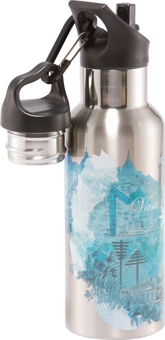 Фляга Carl Oscar Wisdom TEMPflask Water, изотермическая, 0,5 л