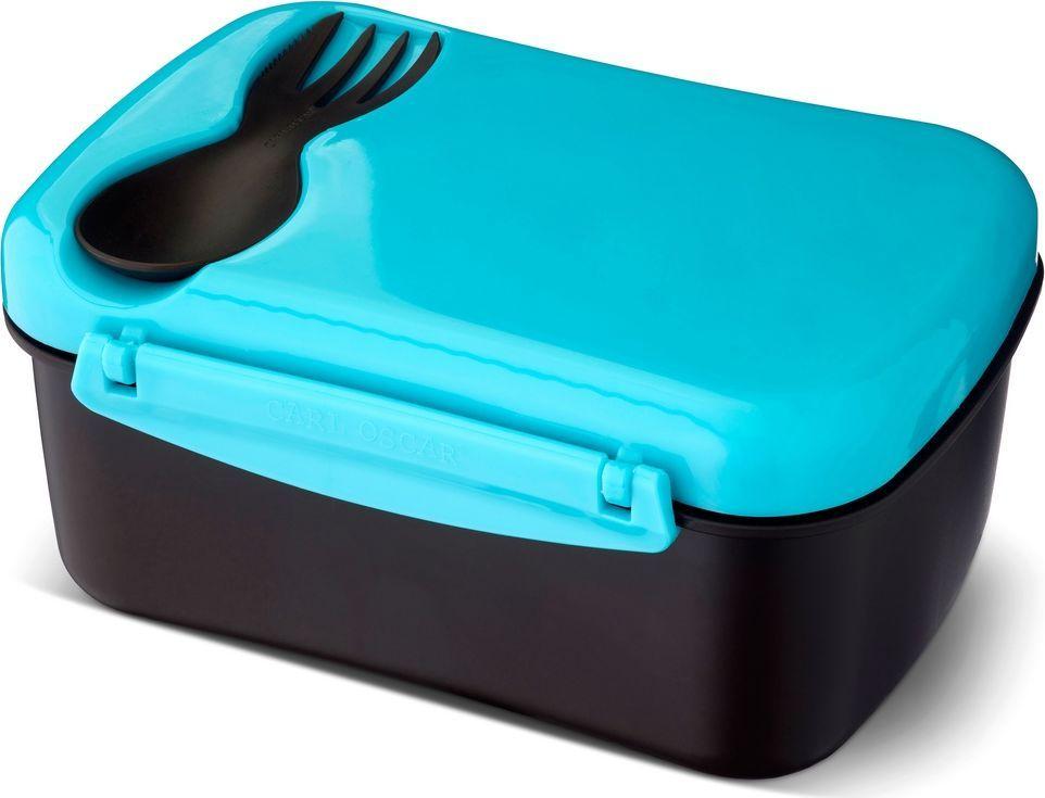 Ланч-бокс с охлаждающим элементом Carl Oscar Nice Box, цвет: бирюзовый, 0,9 л107303Nice Box - инновационный герметичный ланч-бокс со съемным охлаждающим диском на крышке. Идеален для школы, работы и путешествий. Вы будете есть полезную пищу из ланч-бокса, производство которого эффективно по затратам и не имеет вреда для здоровья. Подходит для свежих овощей, фруктов и топпингов. В комплект Nice Box входит многофункциональный столовый прибор CUTElery 3в1, который закрепляется на крышке и включает в себя ложку, вилку и ножик.Заморозьте охлаждающий диск, поместив его горизонтально в морозильную камеру на 6 и более часов. Прикрепите диск на крышку, чтобы продукты оставались охлажденными и свежими при комнатной температуре в течение 5 часов. Ланч-бокс может использоваться и без охлаждающего диска. Nice Box не содержит бисфенол А, фталаты и свинец, а в охлаждающем диске использован гель, в состав которого не входят токсичные вещества.Ланч-бокс можно использовать в СВЧ-печи предварительно сняв охлаждающий диск, а также мыть в верхнем отсеке посудомоечной машины.Дизайн: Carl Oscar®