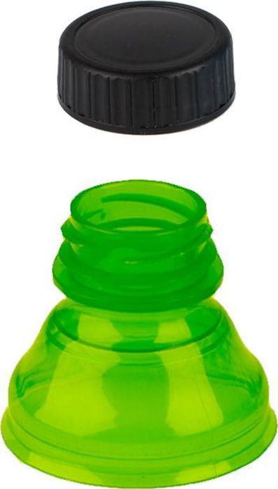 Пробка для напитков Balvi Snap, цвет: зеленый24339gСпециальная пробка для напитков Balvi Snap служит насадкой на горлышко металлическойбанки. Эта пробка сделает употребление напитка не только безопасным, но и удобным. Изделиевыполнено из пищевого пластика. Такая пробка станет незаменимой в дороге. Благодарягерметичному креплению пробки к поверхности банки ни капли напитка не прольется в салоне.