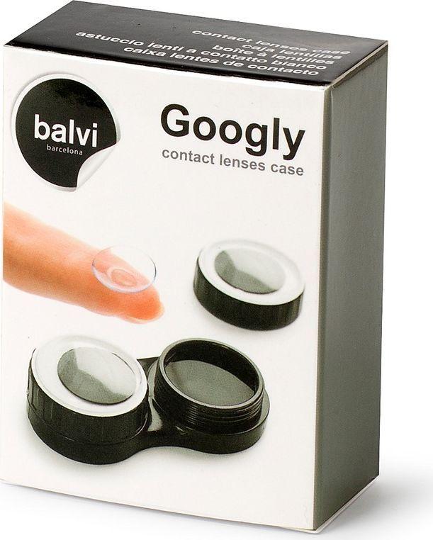 BalviФутляр для контактных линз Googly, цвет:  черный Balvi