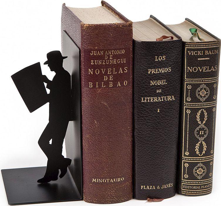 Balvi Держатель для книг The Reader цвет черный -  Подставки для учебников