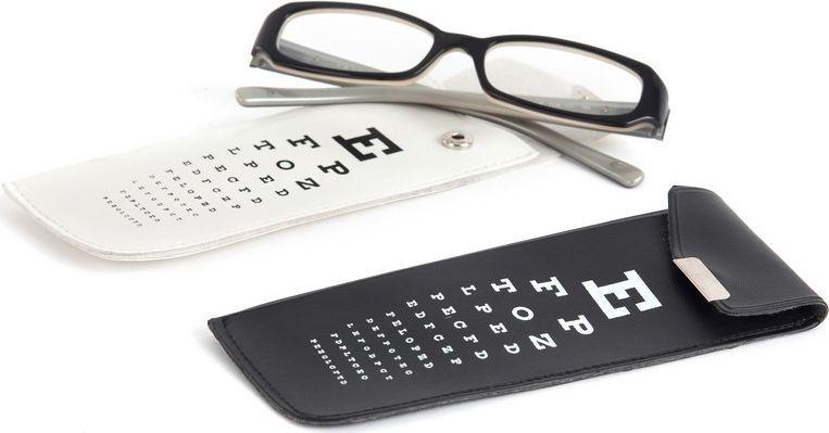 BalviФутляр для очков Eye Test, цвет:  белый Balvi