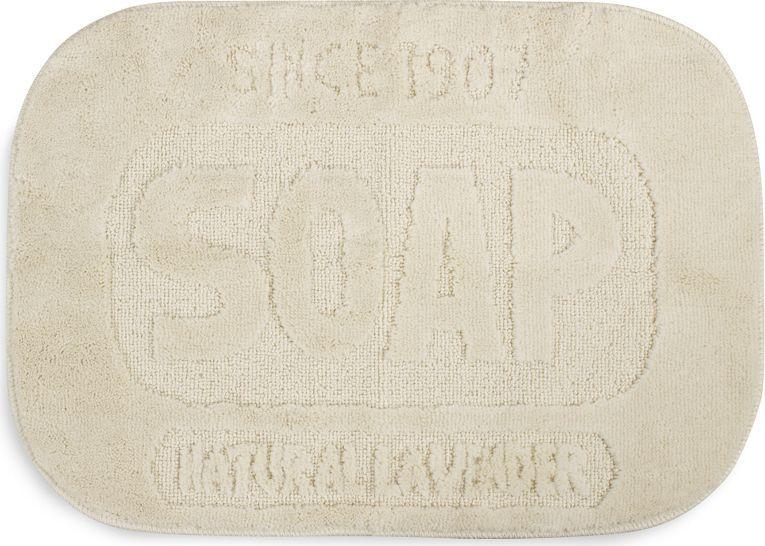 Хотите добавить нотку оригинальности и комфорта в вашу ванную комнату? Тогда вам стоит обратить внимание на мягкий коврик для ванной Soap. Его необычная овальная форма выполнена в виде кусочка мыла, что, безусловно, станет оригинальным украшением для любой ванной комнаты. Благодаря пушистому и очень нежному ворсу даже самые нежные стопы будут чувствовать уют и комфорт. Коврик прекрасно впитывает лишнюю влагу и не требует особого ухода - его достаточно постирать в машинке, чтобы вернуть первозданный вид.