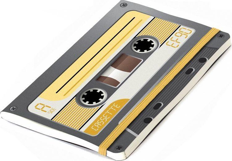 Balvi Записная книжка Record 70 листов цвет черный26122bЗаписная книжка является незаменимым атрибутом для людей, которые не всегда могут надеяться на свою память. Если вы привыкли в течение дня делать небольшие заметки или составлять списки необходимых покупок, то записная книжка Record станет вам отличным помощником. Дизайн этого блокнота выполнен в виде аудиокассеты, которая пробудит ностальгические воспоминания у поколений, выросших в 70-90-е года. -Небольшой формат позволит всегда брать записную книжку с собой.-Выполнена из нелинованной бумаги хорошего качества.-Резинка может выполнять функции удобной закладки.-Разные цветовые решения позволят выбрать блокнот по своему вкусу.