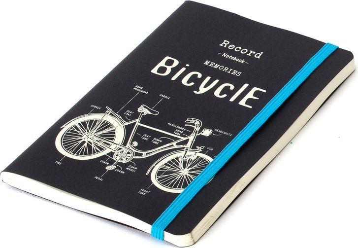 Balvi Записная книжка Retro Bicycle 70 листов26338Оригинальная записная книжка Retro Bicycle будет дополнительным штрихом в вашем имидже. Она может служить не только для написания заметок или списков, но и как ежедневник, благодаря довольно большому количеству листов. В тоже время она не тяжелая – ее легко можно носить с собой. Плотная белая нелинованная бумага позволит делать в записной книжке зарисовки или небольшие рабочие чертежи. Обложка выполнена в черно-белом цвете, так что этой записной книжкой могут пользоваться и мужчины, и женщины.• Подходит для личных и рабочих записей • Оснащена резинкой, при помощи которой плотно закрывается • Благодаря небольшому формату помещается в женскую сумку или мужской дипломат