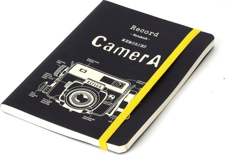 Balvi Записная книжка Retro Camera 70 листов balvi записная книжка retro camera 70стр
