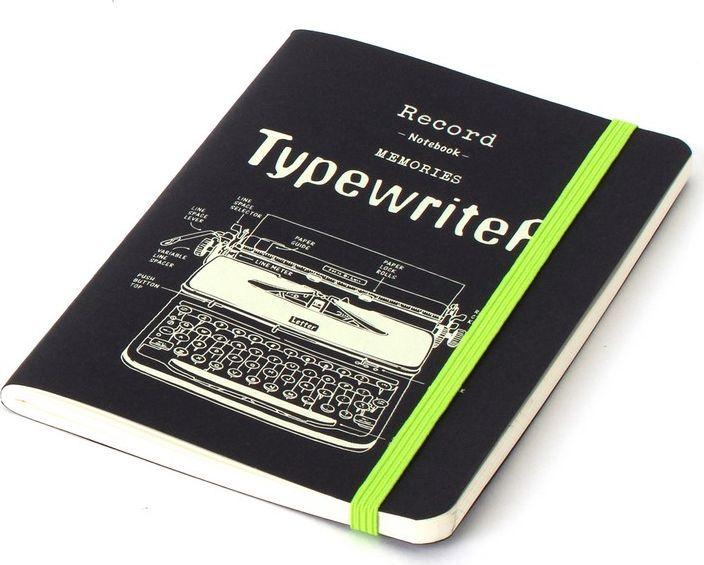 Balvi Записная книжка Retro Typewriter 70 листов26340Записные книжки до сих пор остаются незаменимым атрибутом для многих людей, ведь открыть ее на нужной странице гораздо быстрее, чем найти подходящую заметку в смартфоне. Записная книжка Retro Typewriter станет полезным аксессуаром для человека, ценящего свое время. В ней 70 белых нелинованных страниц, которые позволяют писать или рисовать на них все, что угодно. Пишущая машинка, изображенная на обложке, делает книжку универсальной и подходящей как для деловых людей, так и для творческих натур.• Есть резинка, плотно закрывающая записную книжку и защищающая ее от повреждений • Формат, удобный для ношения с собой • Скругленные углы, оригинальный дизайн обложки, высококачественная бумага – все это гарантирует удовольствие от пользования записной книжкой
