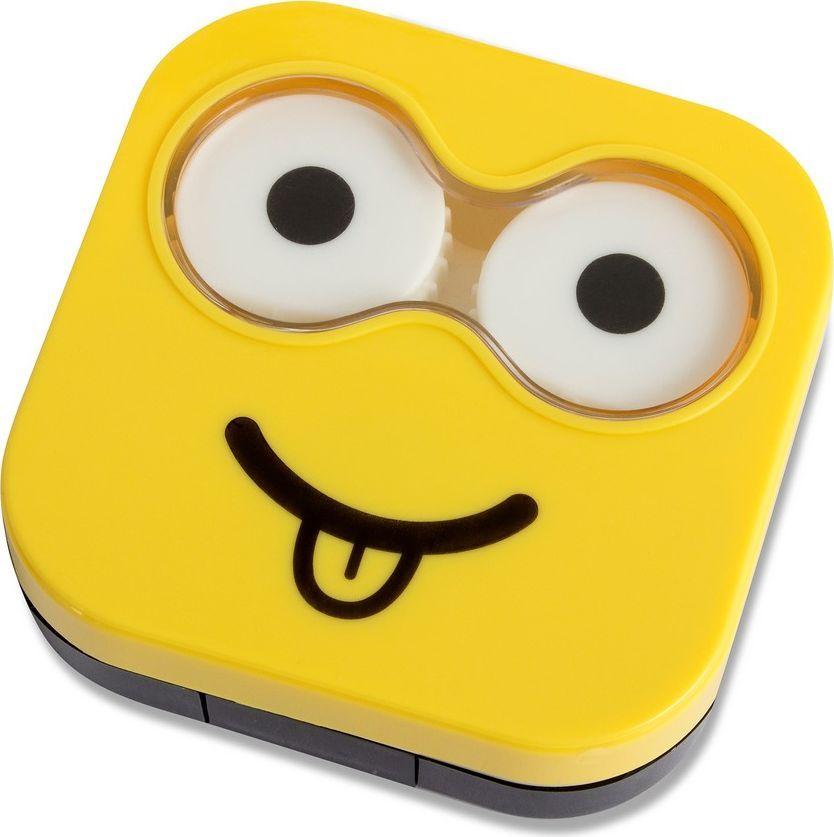 Balvi Набор для контактных линз Emoji, цвет: желтый