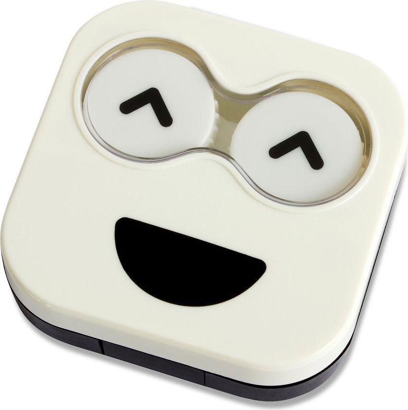 Balvi Набор для контактных линз Emoji, цвет: белый