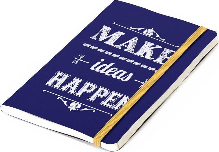 Balvi Записная книжка Inspiration 70 листов цвет синий26354Говорят, если записать мысли и идеи, они осуществляются. Претворяйте в жизнь идеи! - подтверждает данная записная книжка. Она идеальна для того, чтобы записывать свои идеи, мысли, желания и претворять их в жизнь! Удобный размер записной книжки Inspiration позволяет ее всегда держать при себе. И в какую бы секунду ни пришла к вам муза, записная книжка будет под рукой и станет пристанищем для ваших идей!-Мотивирующая надпись на ярком синем фоне. -Стильное канцелярское решение.-Без линовки. Писать или рисовать – одно удовольствие. -Три варианта текста и разноцветных обложек.