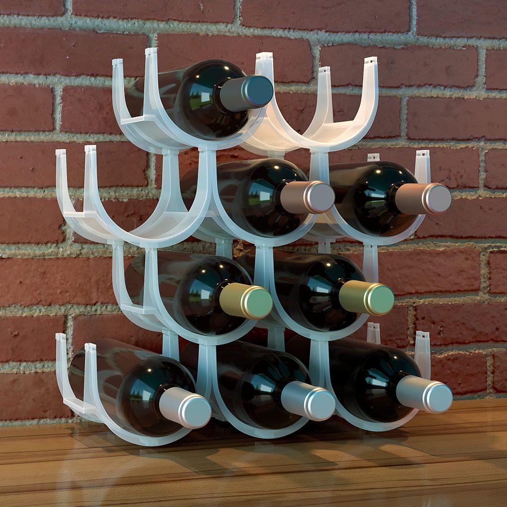 Подставка для бутылок Balvi Basics, 10 шт26399Хорошее вино требует особых условий хранения. Оптимальным вариантом для этого станет стильная подставка для бутылок Basics от испанского бренда Balvi. Она выполнена из лёгкого и прочного полипропилена и вмещает одновременно до 10 бутылок. Лаконичный и привлекательный внешний вид гармонирует с интерьером любого помещения. Подставка не занимает много места и позволяет в любой момент достать вино, чтобы угостить своих гостей.• Эргономичная форма и стильный внешний вид• Разборная конструкция в виде сот с возможностью сборки как по горизонтали, так и по вертикали• Возможность безграничного увеличения вместительности путем приобретения нескольких наборов Basics