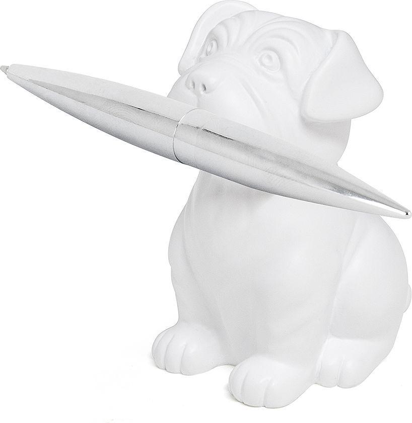 Balvi Набор ручки и пресс-папье Woof! цвет белый -  Канцелярские наборы