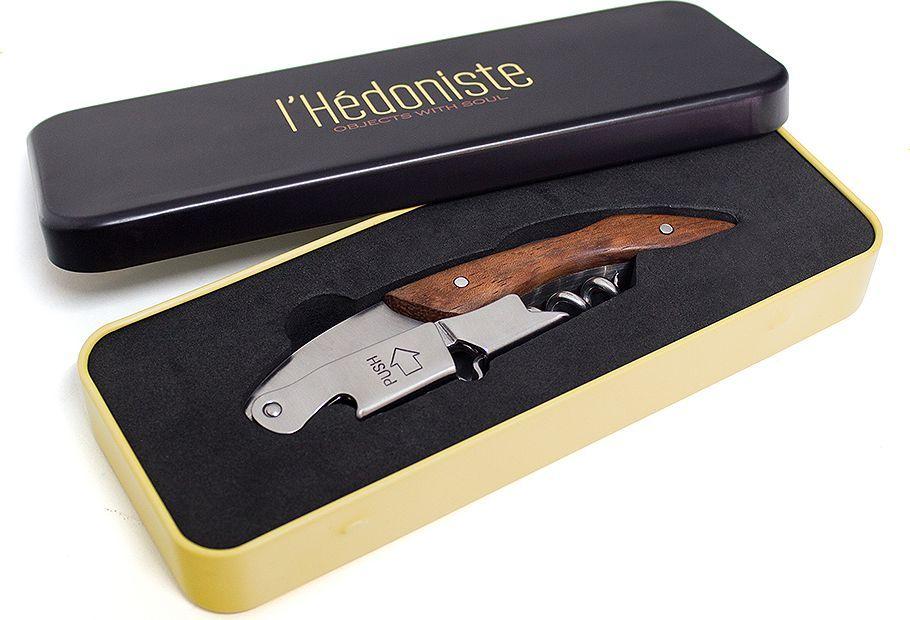 Штопор Balvi l'Hedoniste, в подарочной коробке, цвет: серебристый