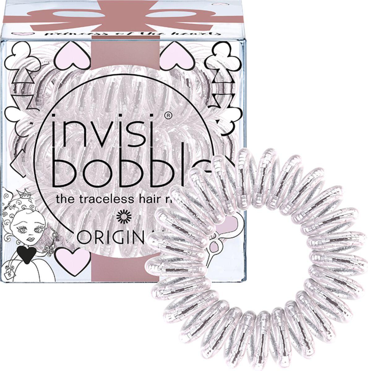 Invisibobble Резинка-браслет для волос Original Princess of the Hearts, 3 шт резинки invisibobble резинка браслет для волос invisibobble original princess of the hearts