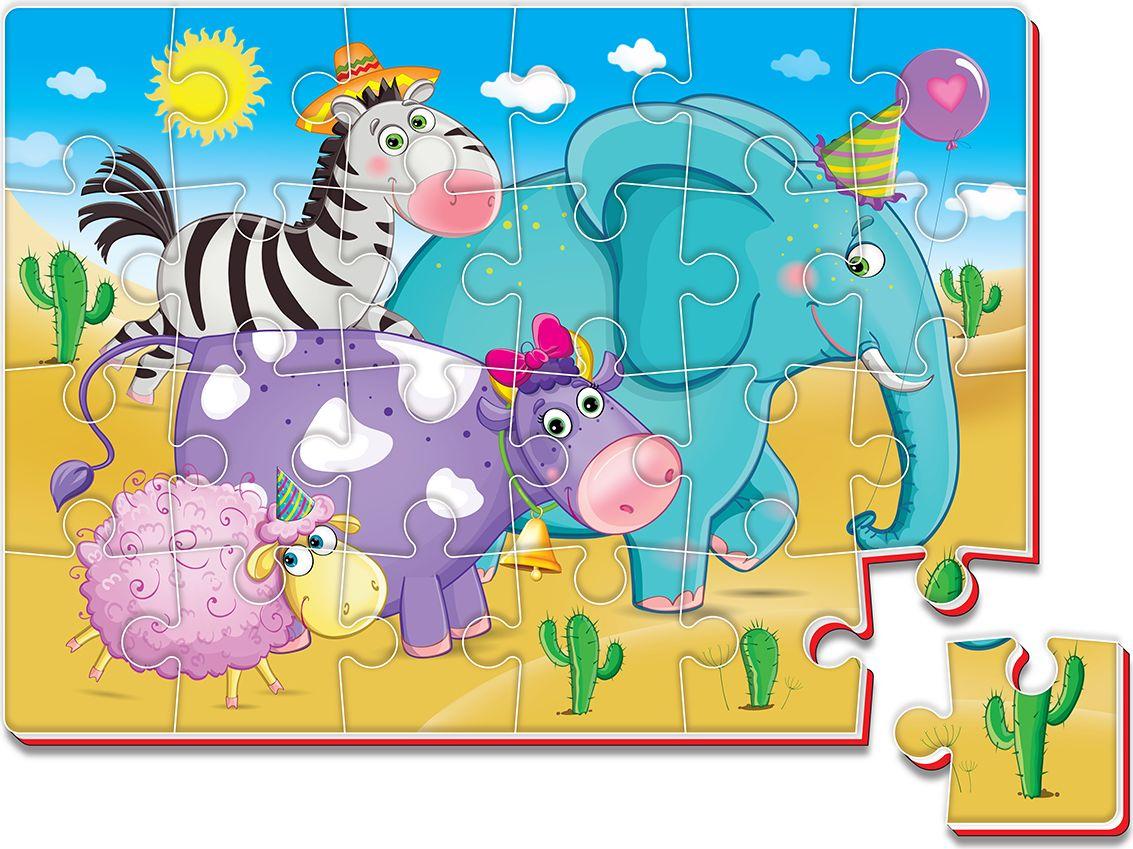 Roter Kafer Пазл для малышей Зоопарк водораскраска пазл зоопарк pr1057