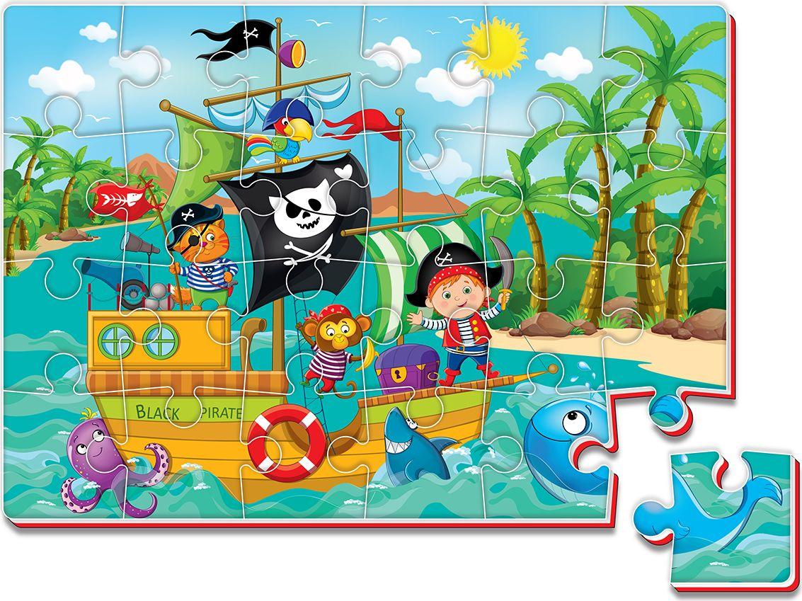 Roter Kafer Мягкие пазлы Пираты