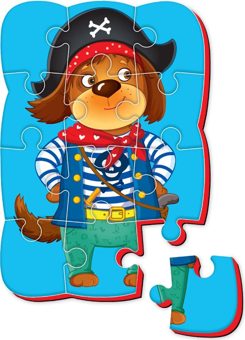 Roter Kafer Пазлы на магните Собака томик пазлы объемные пароход 16д