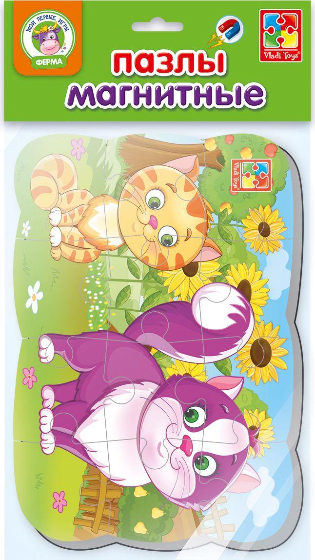 Vladi Toys Пазл для малышей Мои первые игры Котик